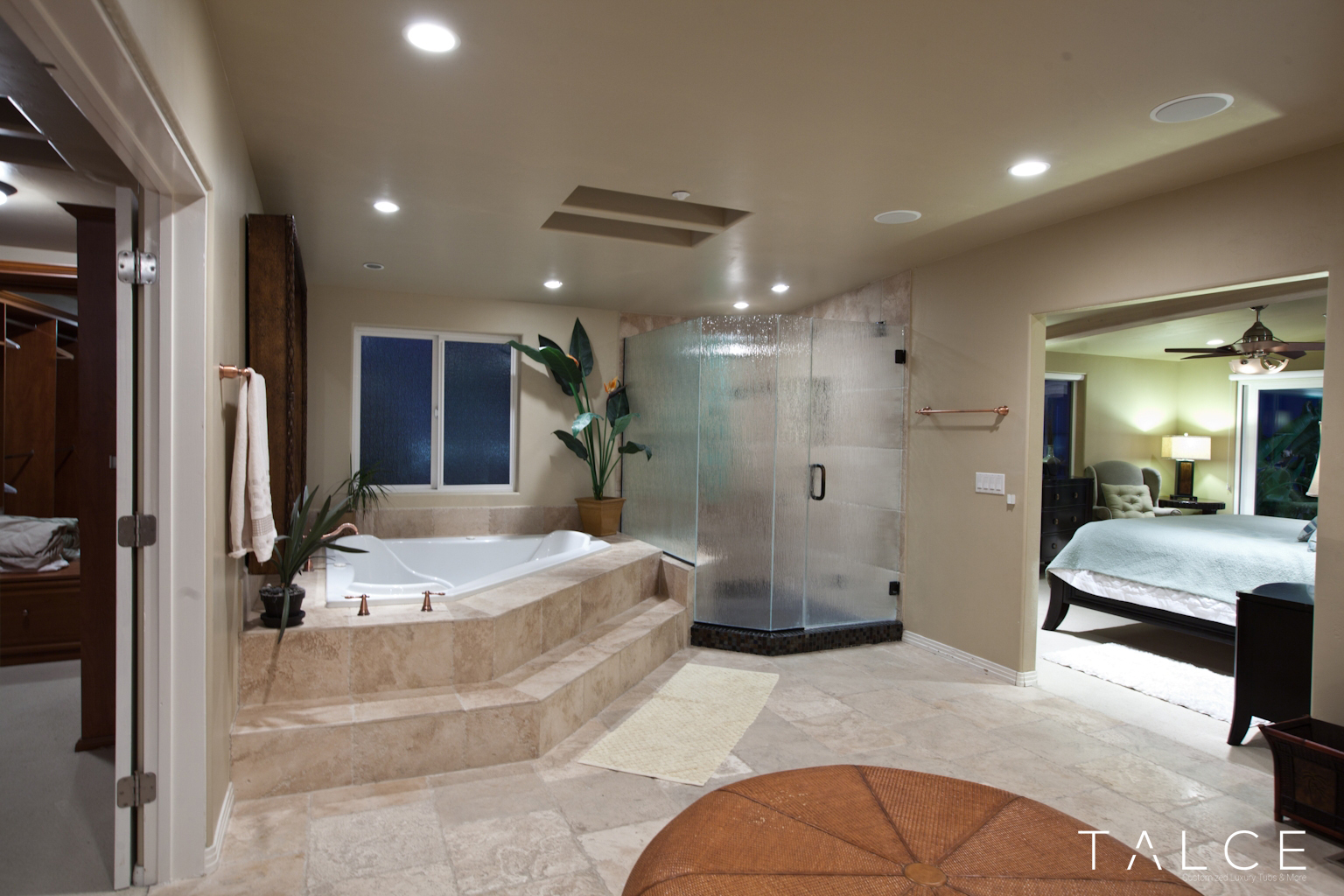 Beautiful master bathrooms -  Talce Beautiful Master Bathroom Luxury